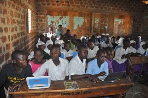 Classroom setting at Kiyunga Islamic Primary School